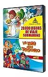 20,000 Leagues Under the Sea + Treasure Island (20.000 leguas de viaje submarino + La isla del tesoro) - Audio: Spanish - Regions 2