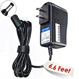 #10: T-Power ( 6.6ft Long Cable ) Ac Dc adapter for 9vdc Alesis QX49 Q49 QX61Alesis VI25 Advanced 25-Key USB MIDI Keyboard & Drum Pad Controller Replacement Switching Power Supply Cord Charger