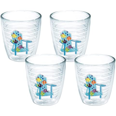 TERVIS Tumbler, 12-Ounce, Tropical Fish Adirondack Chairs, by Tervis