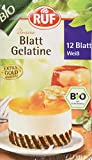 RUF Bio Blatt Gelatine Klar, 5er Pack (5 x 20 g)