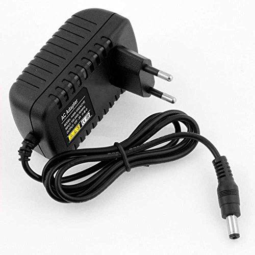 2 Pin EU Netzteil Netzadapter AC100-240V auf 12V 2A 24W für LED Band RGB Schwarz Auf Band 2