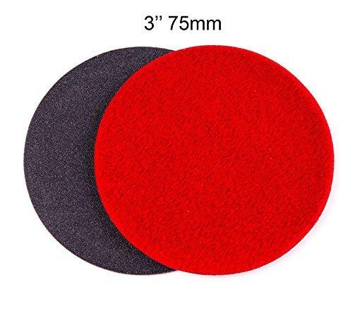 Glass Polish 7,6 cm (75 mm) gp150 Disque abrasif pour réparation Rayures en Verre, épais de qualité (Lot DE 10 disques)