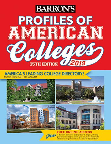 Profiles of American Colleges 2019 (Barron's Profiles of American Colleges)