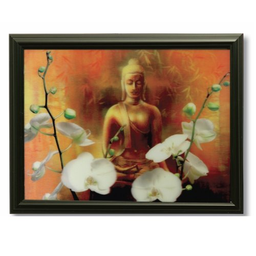 3D Bild Buddha Deko Buddhismus Feng Shui Esoterik