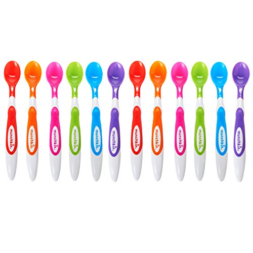 munchkin-12-piece-soft-tip-infant-spoons