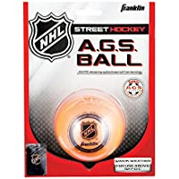 Franklin Streethockey Ball Ags High Density - Pelota/Disco de hockey sobre patines, color naranja