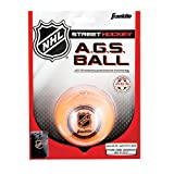 Franklin AGS Streethockey Ball NHL I Ball für Roller- und Inlinehockey I Outdoor Ball mit Active-Gravity-System I speziell gedämpfte Flüssigkeit im Ballinneren I mittelhart I hitzetauglich - Orange