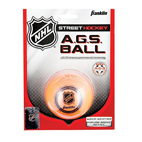 franklin-streethockey-ball-ags-high-density-orange-12217