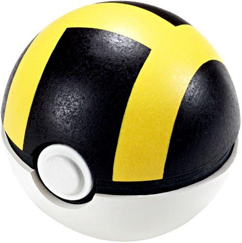 Jakks Pacific Pokemon Soft Foam 2.5 Inch Pokeball Toy Ultra Ball
