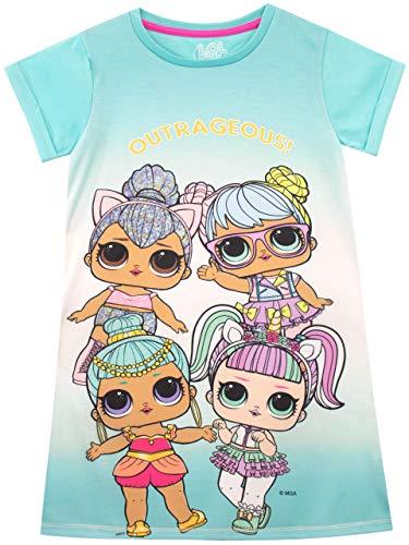 LOL Surprise Camisón para niñas Azul 12-13 Años