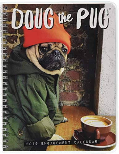 Doug the Pug 2019 Engagement Calendar (Dog Breed Calendar)