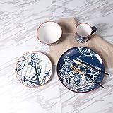 vintage elegante ceramica posate, svegliati colazione con buon umore.arte, curve lisce, la ricerca della qualità della vita, a partire da ogni dettaglio.a suo agio portatili di progettazione, chic di forma semplice e naturale delle linee.sano...