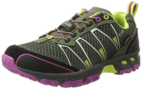 C.P.M. - Atlas, Scarpe da Trail Running Donna Verde (Avocado-acido-malva)