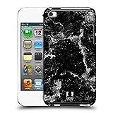 Head Case Designs Schwarz Marmor Drucke Ruckseite Hülle für Apple iPod Touch 4G 4th Gen