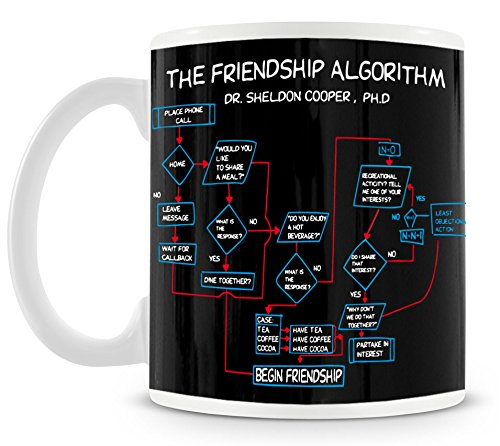 TLM The Friendship Algorithm (Bang Kostüm Sheldon Halloween Big)