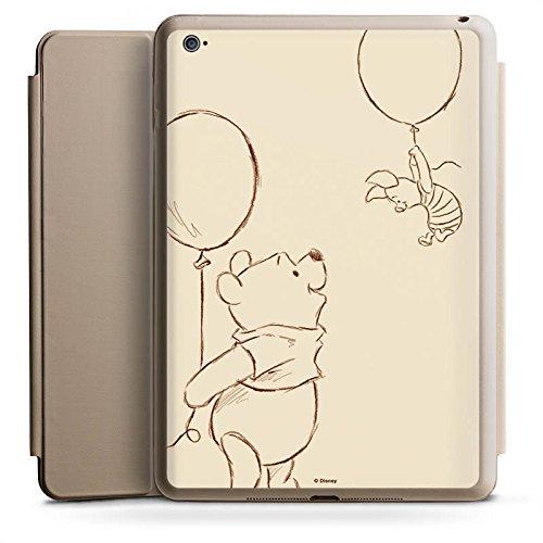 Apple iPad Air 2 Smart Case Hülle Tasche mit Ständer Smart Cover Disney Winnie Puuh & Ferkel Merchandise Fanartikel (Ipad Disney Cover)