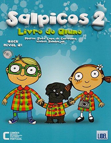 Salpicos - Portuguese course for children: Livro do aluno (A1) + CD (Novo Acordo