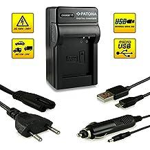 ¡Novedad! – El primero cargador de batería con conexión micro USB · adecuado para la batería DMW-BCM13E DMW-BCM13 para Panasonic Lumix DMC-FT5   DMC-TS5   DMC-TZ37   DMC-TZ40   DMC-TZ41   DMC-ZS30 y mucho más…