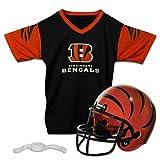 Franklin Sports NFL Replica Jugend Helm und Trikot Set, Unisex, 15720F16, Cincinnati Bengals, Größe S