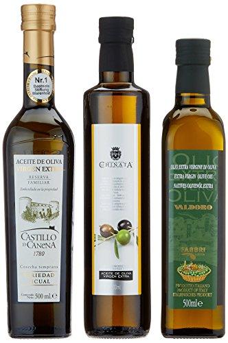 Geschenkset Hochwertige Olivenöle im Geschenkkarton