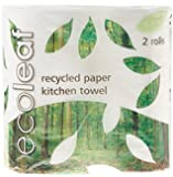 Ecoleaf Three Play Kitchen Towel (Pack of 12)