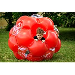 Lexibook - BG100 - Balle Gonflable géante, Rouge