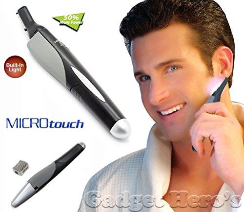 Gadget Hero's Microtouch Nose, Ear, Facial, Eyebrows & Body Hair Trimmer.