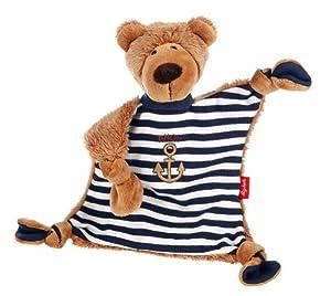 Sigikid 40400 Ocean Otto - Mantita de seguridad, diseño de oso