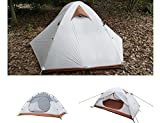 Luxe Tempo 2 Person Ultralight Tents for Camping 3.8LB with Footprint High-end Silnylon
