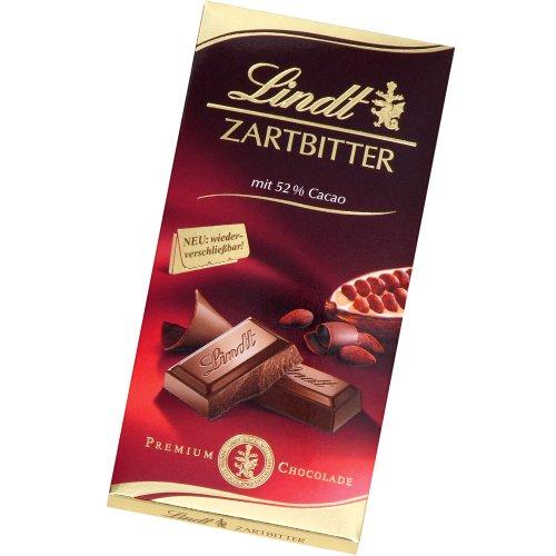 Lindt Zartbitter Chocolade 52% Cacao 100g