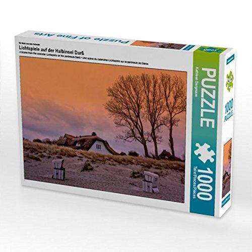 Ein Motiv aus dem Kalender Lichtspiele auf der Halbinsel Darß 1000 Teile Puzzle quer