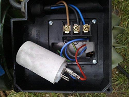 Kit reparaci/ón piscinas; Condensador el/éctrico de interior arranque motor bomba monof/ásica 20 Microfaradios