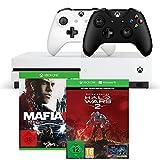 Xbox One S 1TB Konsolen-Bundle inkl. Halo Wars 2:Ultimate Edition + Mafia III + Xbox Wireless Controller