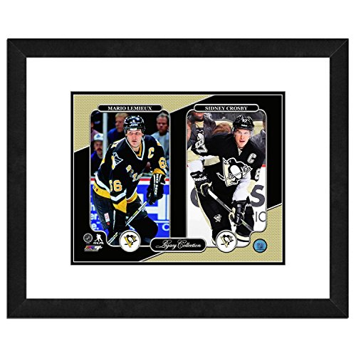 Photo File NHL Legacy Collection, Herren, Pittsburgh Penguins Legacy Collection with Mario Lemieux and Sidney Crosby, Mehrfarbig, Einheitsgröße (Pittsburgh Bilder Penguins)