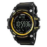 Auspicious beginning bluetooth sports smartwatch pour Iphone et Android, appareil photo à distance, enregistrement sportif, avis d'appel téléphonique, message