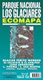 Parque Nacional Los Glaciares Map - Collectif