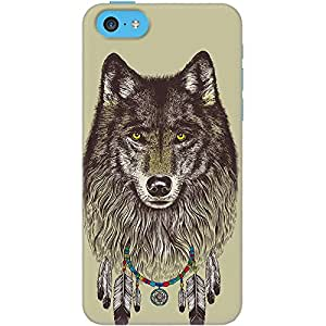 DailyObjects Wolf Case For iPhone 5C