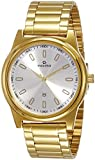 Maxima Analog Silver Dial Unisex Watch - 34753CMGY