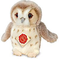 "Teddy Hermann 941545"" Owl Soft Toy, Beige, 20 cm"