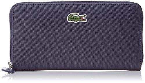 Lacoste Damen L1212 Concept Brieftasche, Blau (Eclipse), One Size