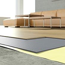 [DQ PP] 5m2 Trittschalldämmung Dämmung Boden Für Laminat Parkett 3mm XPS  Grau Parkett
