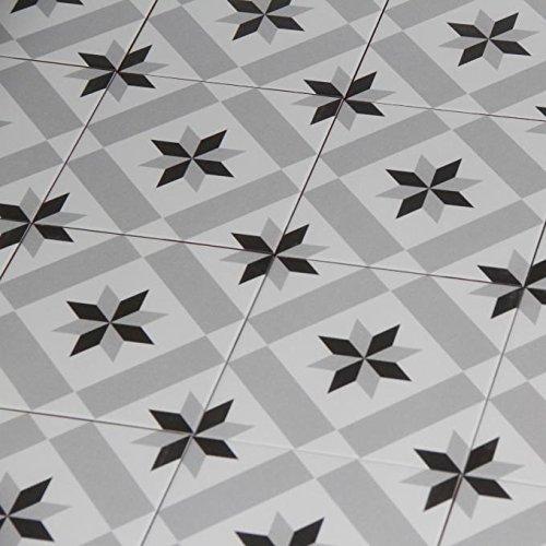 Mediterrane Keramikfliesen Rahma 20x20 cm matt 1 qm aus glasiertem Steinzeug in Zementoptik   Bodenfliesen Wandfliesen im Bad & Küchenrückwand   Schöne Küche Flur & Badezimmer   FL6006
