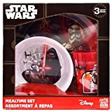 Star Wars The Force Awakens' 3-Piece Dinner Set | Tumbler, Bowl and Plate | Episode 7