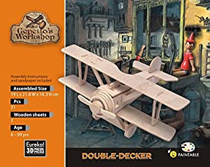 Eureka-Gepetto 52473158 - Puzzle 3D de Madera