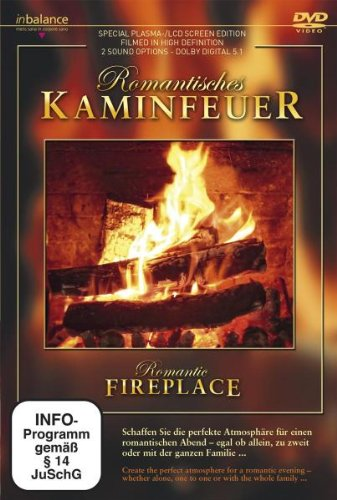 Romantisches Kaminfeuer Pure-flat-tv