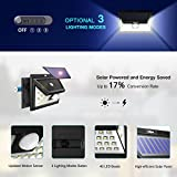 from Mpow Mpow 40 LED Solar Lights Bright Garden Lights Motion Sensor, 3 Optional Lighting Modes, Large Solar Panel Weatherproof, Great Outdoor Lights for Garden, Driveway, Yard, Pathway and Patio Model PAMPCD117AB-UKAA1