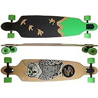 Deluxe Longboard Maxofit Freedom 19001, 104 Cm, 9 Stratti Di Acero Canadese, Drop Through Azione Fino A Esaurimento Della Merce - Azione Longboard Skateboard