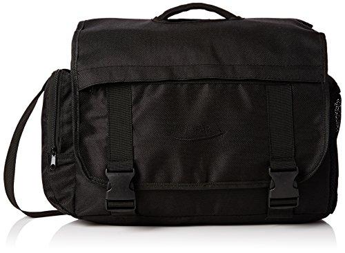 Large Messenger Shoulder Meeting Bag for School College Office W Organiser Pocket - Holds A4 Folders