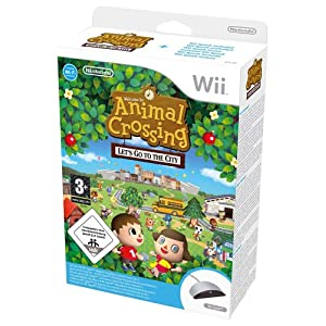Animal Crossing: Let's Go To The City with Wii Speak (Wii)