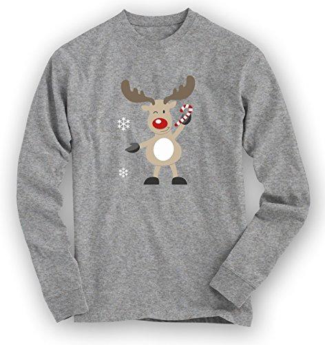 christmas-sweatshirt-10-rentier-weihnachten-santa-claus-nikolaus-pullover-pulli-farbegraumeliert-hea